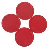 air hockey arcade - JHO Air Hockey Puck Table Arcade Game Pucks mm Red