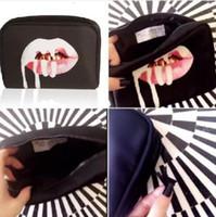 Wholesale Kylie Jenner Make Up Bag Birthday Collection Makeup Bag Kylie Lip Kit Bag High Quality