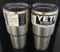 Wholesale Powder Coated Yeti cups lRambler Tumbler oz YETI Cup Cars Beer Mug Large Capacity Mug Tumblerful ml Yeti cup IN STOCK