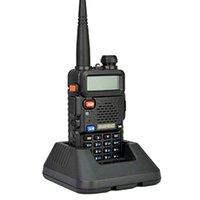 Wholesale Baofeng UV R Portable Radio walkie talkie sets ham radio station For walkie talkie CB radio comunicador uv5r baofeng UV R