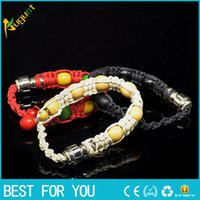 Wholesale bracelet bead smoking pipe for tobacco discreet sneak a toke click n vape