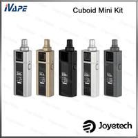 Cheap 100% Original Joyetech Cuboid Mini Kit 5.0ml Atomizer NotchCoil DL Head With 80W Cuboild Mini Battery 2400mah Variable Modes Available
