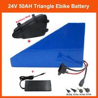 Wholesale Hot sale W V Triangle battery V AH Electric Bike battery Use samsung mah cells with A BMS V A charger