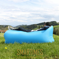 Wholesale lazy boy sofa upholstery sofa fabric bag only Seconds Quick Open sleeping bag outdoor camping lounge