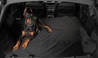 Wholesale Pet Rear Seat Cover Dog Car Seats Cover for Cars and SUVs The Best Protector for Your Back Seat