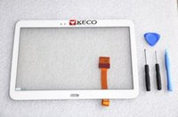 Wholesale For Samsung Galaxy Tab P5200 Front Touch screen Glass Digitizer White