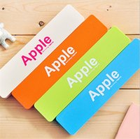 Wholesale Apple Candy Color Creative Pen Box Pencil Case School Stationery Storage Student Gift Kids Rewarding