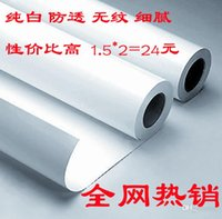 Wholesale Background150 CM White photography background paper background cloth paper reflectorised pp paper