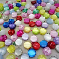 Wholesale 2016 new candy color pearl buttons shirt apparel sewing accessories mm color B001