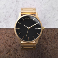 Wholesale Selling Men Full Steel Watch luxury brand quartz watch Casual Fashion watches men Gold And Sliver watch Sport waterproof clock