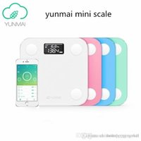 Wholesale 2016 Original yunmai mini smart weighing scale digital scale Body fat scale health scale support Android4 IOS7 Bluetooth