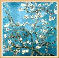 almond paste - Crafts Diy Full Drill Diamond Painting Cross Stitch Rhinestone Pasted Van Gogh Almond cx