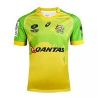 australia unions - Rugby League Australia Super Rugby Union Crusaders High temperature heat transfer printing jersey Rugby Shirts