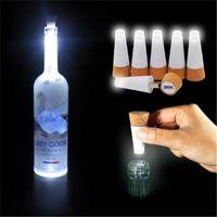 Wholesale LED Bottle Light Cork Rechargeable USB LED Lights LAMP Romantic wedding party Plug Wine Bottle LED Night Light candle lights
