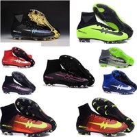 best selection - 2016 New Mercurial Superfly FG Soccer Shoes Laser Orange pink black Soccer Boots best selection of soccer cleats