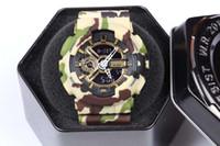 acrylic lead boxes - ga110 LED relogio Watch military camouflage watch G digital watch watch Wristwatch With Original box