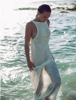 beach vacation cheap - cheap lady dress Ms European beach vacation backless dress sexy fashion leisure sundress yards high quality low discount free s