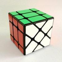 Wholesale Third order Magic Cube edge shift shift the new third order cube shaped prism Magic Cube puzzle toys