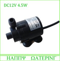 mini submersible pump - New Mini Micro V DC Submersible Mini Brushless Water Pumps L H Flow Can Be Used Under Water Diving And Land Type