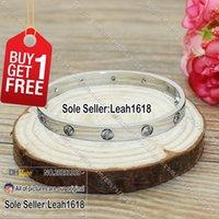 Wholesale Our Love Store Stones Bracelet White Gold Model B014