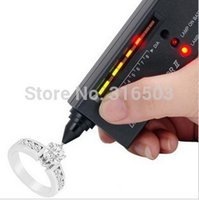 Wholesale Portable Diamond Selector v2 Gemstone Jewelry Tester Tool Accurate And Reliable Reading LED Audio Bag Platform