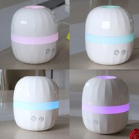Wholesale NEW Auto Smoke Ring Essential Oil Aromatherapy Diffuser Air Humidifier Air Purifier Ultrasonic oil aromatherapy machine ml CAST C