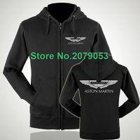bape shop - Women and men Aston Martin S shop zipper hoodie super sports car luxury zipper sweatshirt