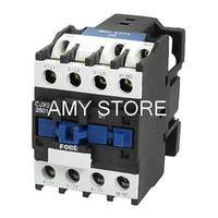 Wholesale V KW Phase P NC AC Contactor DIN Rail Mount V Coil CJX2
