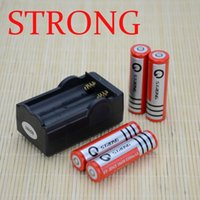 Wholesale New STRONG Li Ion Battery Battery Dual Wall Charger mAh v Rechargeable Battery Travel Charger
