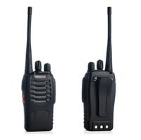 Wholesale 1PCS Black Retevis H Walkie Talkie A1044A UHF W CH Single Band two Way Radio