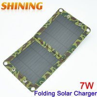 battery charging backpack - 7W Solar Panel USB Charger Battery Power Bank Charger Folding Solar Charging Bag For Moible Phone Camping Travel Backpacks