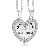 anchor pendant - 2016 New Design BFF Pendant Necklace Friendship Best Friends Forever Necklaces Penguin Anchor for best friend ZJ