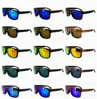 bicycle europe - LJJG148 Rivets Wood Grain Sunglasses Men Women Sports Resin Frame Sun Glasses Europe and America Bicycle Glass