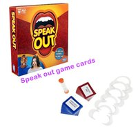 Wholesale in stock best New Hot Speak Out Game KTV party game cards for party Christmas gift newest best selling toy