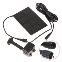 Wholesale High Quality Monocrystalline Silicon Mini Solar Water Pump Power Panel Kit Fountain Pool Pump Garden Pond Submersible Watering