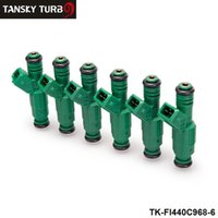 Wholesale TANSKY LOTHigh flow Fuel Injector cc lb EV6 BA BF HSV FPV Turbo TK FI440C968