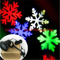 ac white moving - Red Green Blue White Moving snowflake led projector W outdoor Waterproof led christmas projection christmas lights led projector outdoor