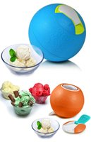 Wholesale DHL free DIY ice cream ball Unplugged sand ice cream milkshake American Yaylabs plastic in stock
