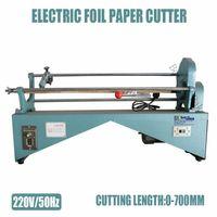 Compra El corte del rollo de papel-Máquina de corte eléctrica del papel de la hoja ER700, máquina de corte del rodillo de papel del papel caliente, estampando el cortador del papel de la hoja (anchura del corte los 70cm)