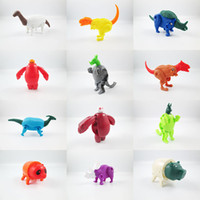abs activities - 60Pcs Novelty super mini kinds Transformation Dinosaur egg animal eggs activity toys for children