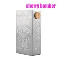 apc batteries - Cherry Bomber Mechanical Box Mod APC Cherry Bomber Mod Fit With Dual Battery For RDA Atomizer DHL