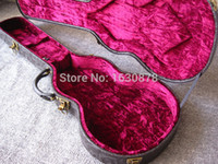 Wholesale LP Guitar Leather Hardshell hardcase Deluxe Life Tree Top Fit in Les paul guitar well
