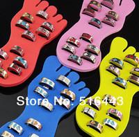 Wholesale 2016 Body Jewelry Fashion Enamel Glaze Mens Women Toe Rings Adjustable