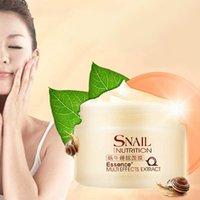 Wholesale Newest Laikou Snail Nutrition Good Night Care Disposable Sleeping Mask Milky White g OJ