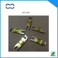 Wholesale ROHS Compliant and Brand New AMP Car Audio MINI ANL Fuse Golden Plated AFS Fuse