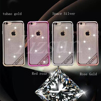best flash accessories - 2016 mobile phone shell mobile phone accessories best TPU plating flash powder without parting line iPhone6 plus new antifouling