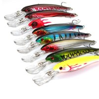 Wholesale Deep Sea Fishing Lure Artificial Minnow Sea Trailers Sea fishing Specialized Baits with Treble Hooks FHG_20D