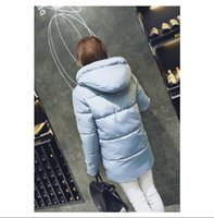 big breads - 2016 winter fat mm down cotton padded jacket female in han edition bread long thickening cotton padded clothes coat big yards easing student