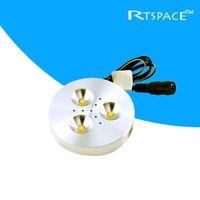 puck led light - HOT selling input DC v W LED Puck Cabinet Light LED spotlight non power