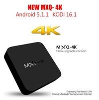 Wholesale MXQ K Wifi TV BOX Rockchip RK3229 Quad Core IPTV Kodi15 Android TVbox Kitkat WIFI Airplay Miracast DHL Free